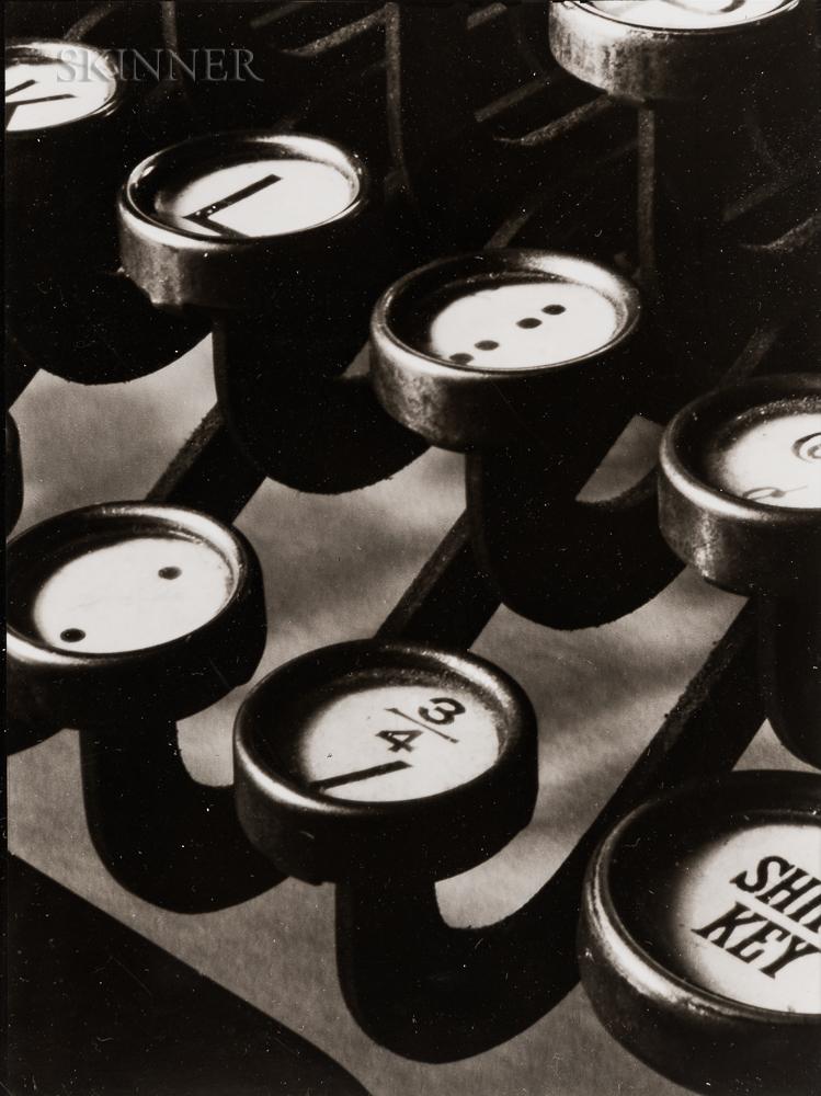 Ralph Steiner (American, 1899-1986)      Typewriter Keys