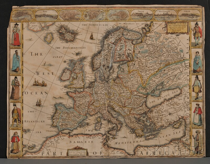 (Maps and Charts, Europe), Speed, John (1552-1629)