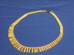 18kt Gold Fringe Necklace.