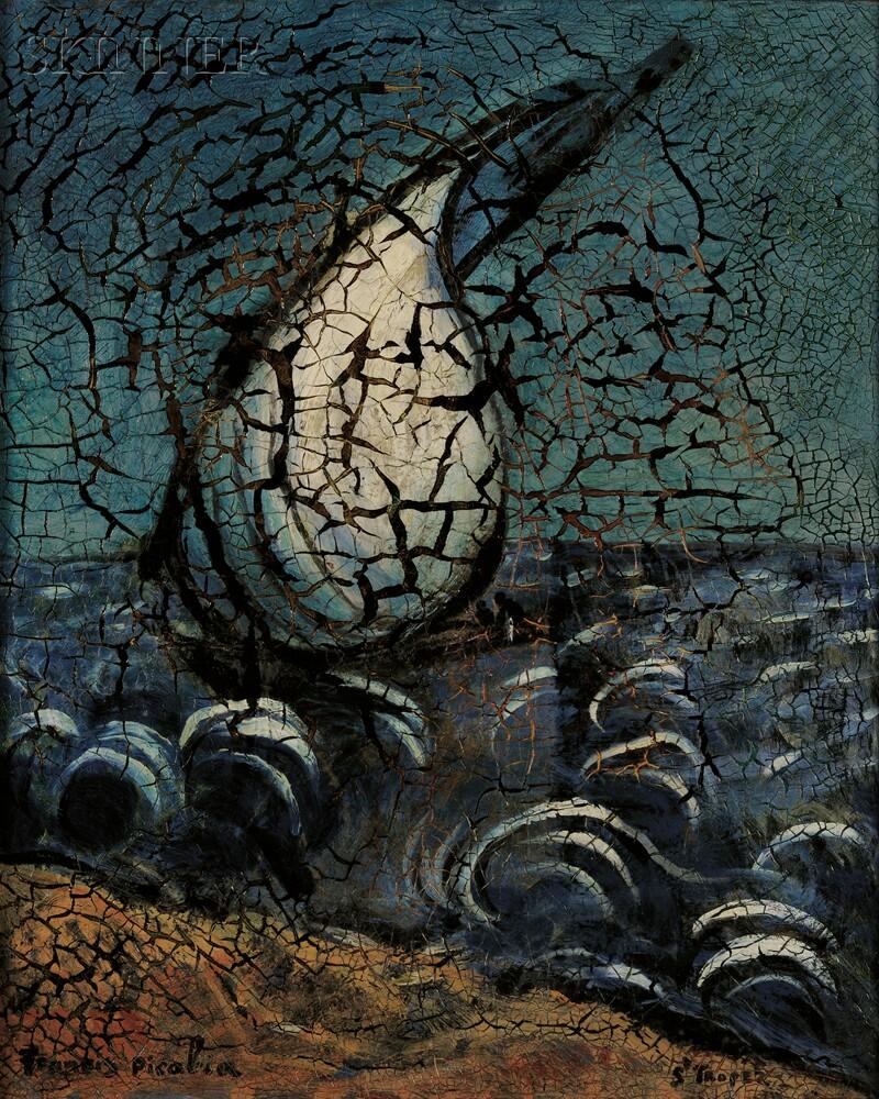 Francis Picabia (French, 1879-1953)      St. Tropez