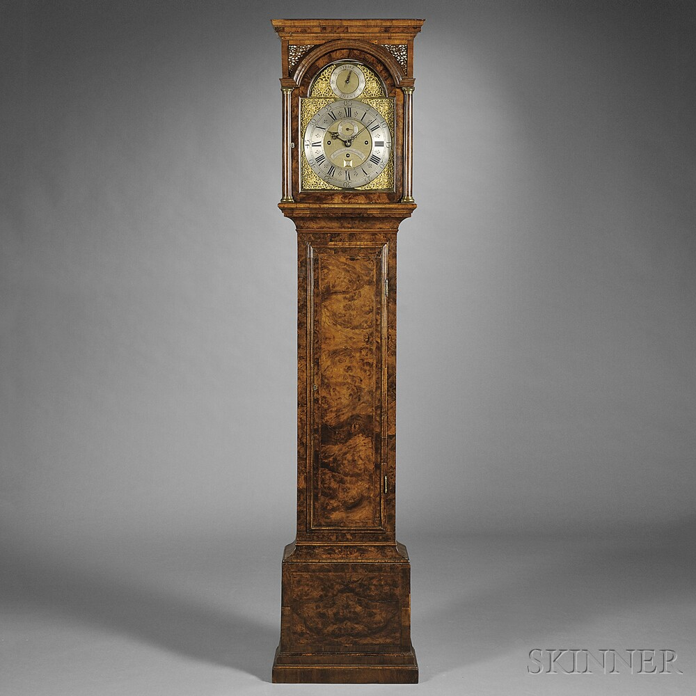John Bushman Quarter-striking Longcase Clock