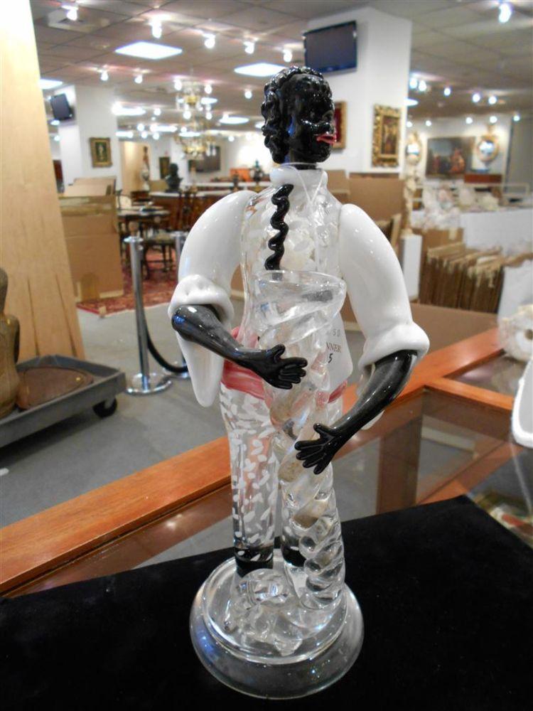 Murano Glass Figure of a Blackamoor