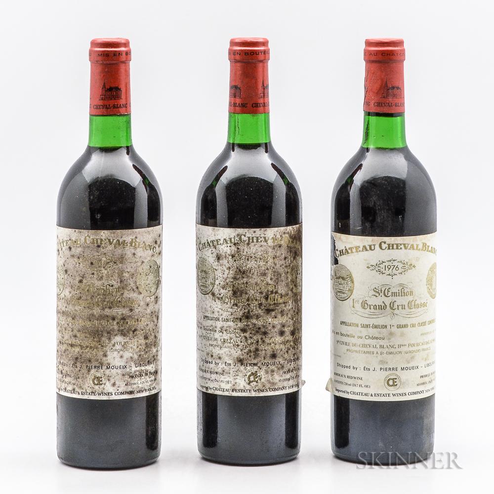 Chateau Cheval Blanc 1976, 3 bottles