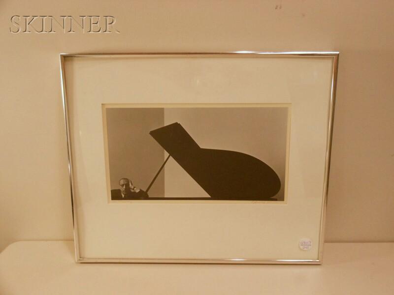 Arnold Newman (American, 1918-2006)      Igor Stravinsky, New York City