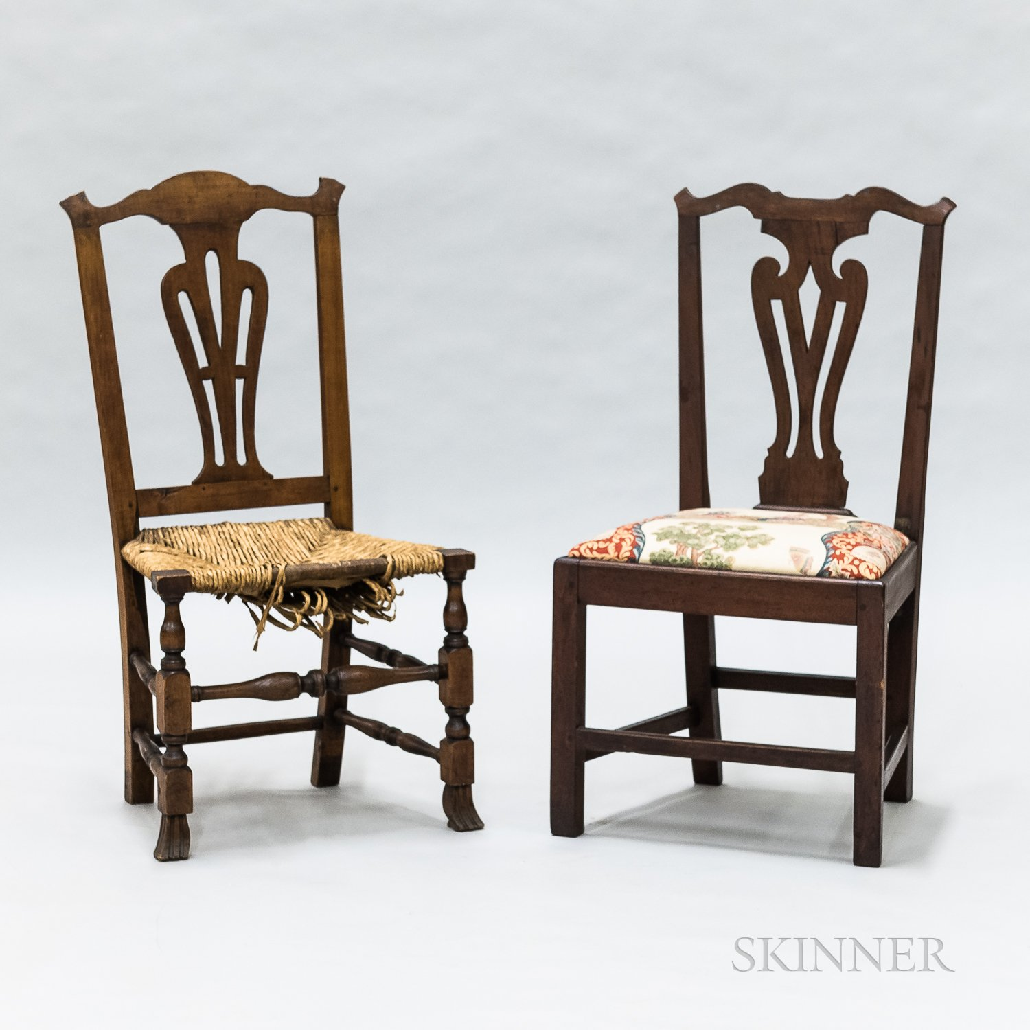 Two Side Chairs
