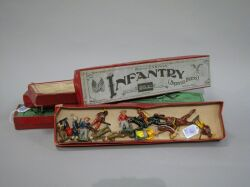 Five Boxed Sets of Lead Figures