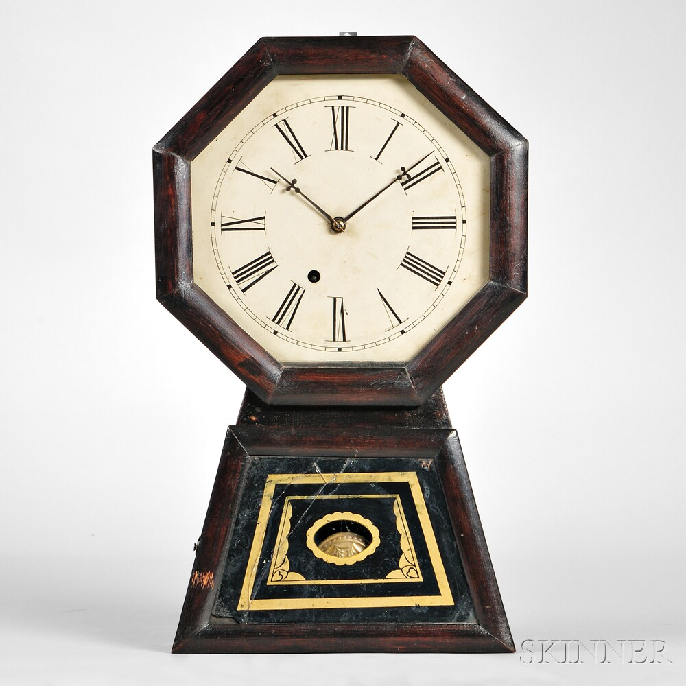 Jerome Eight-day Keyhole Wall Clock