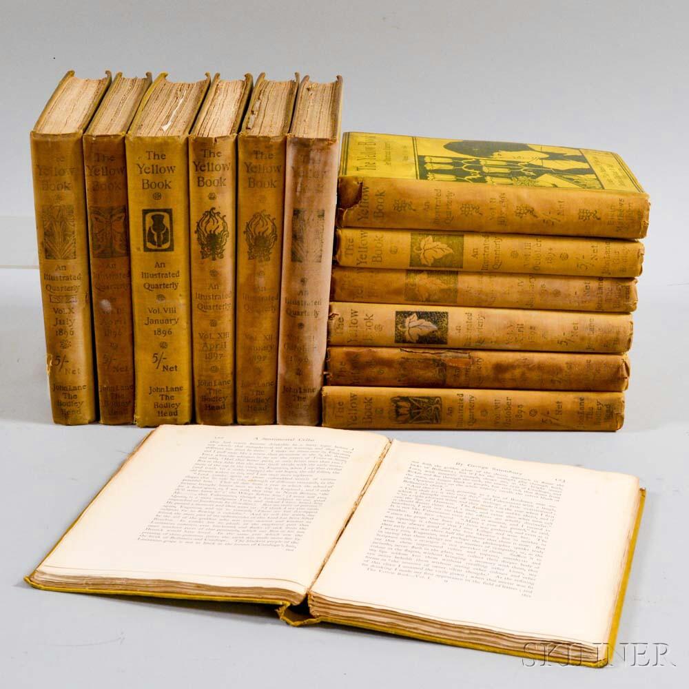 Thirteen Volumes of The Yellow Book  .