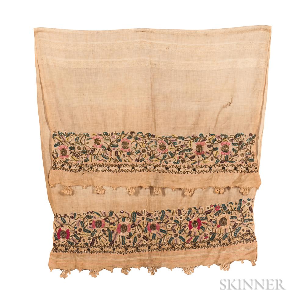 Six Ottoman Embroideries