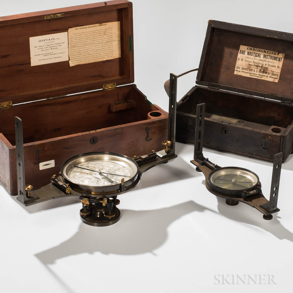 Two Queen & Co. Compasses