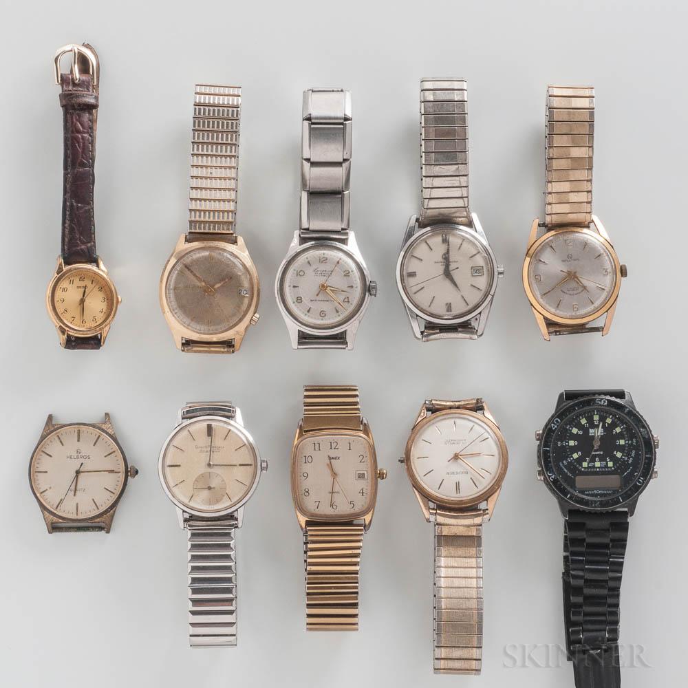 Ten Vintage Wristwatches