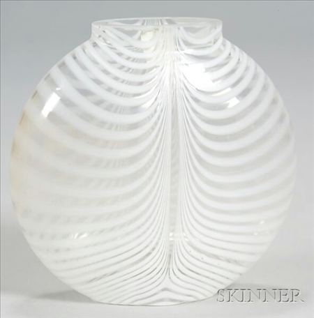 Bertil Vallien Glass Vase