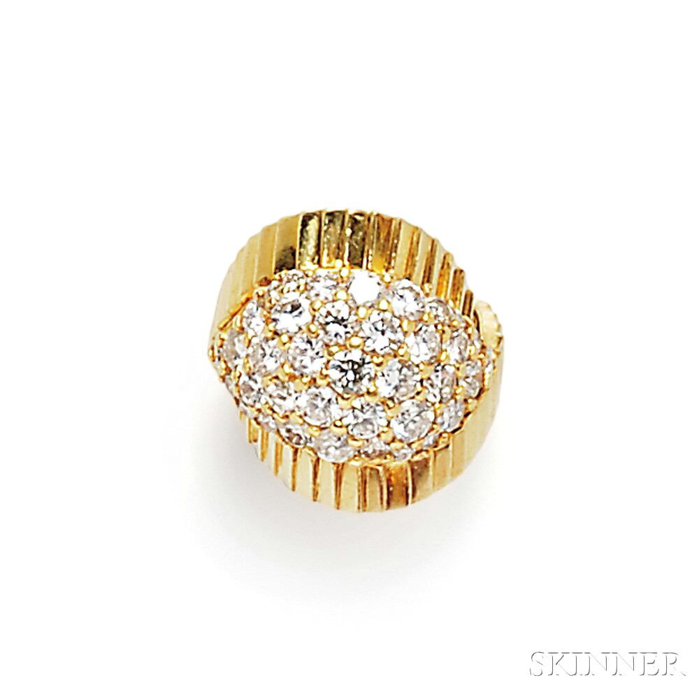 18kt Gold and Diamond Ring, Jose Hess