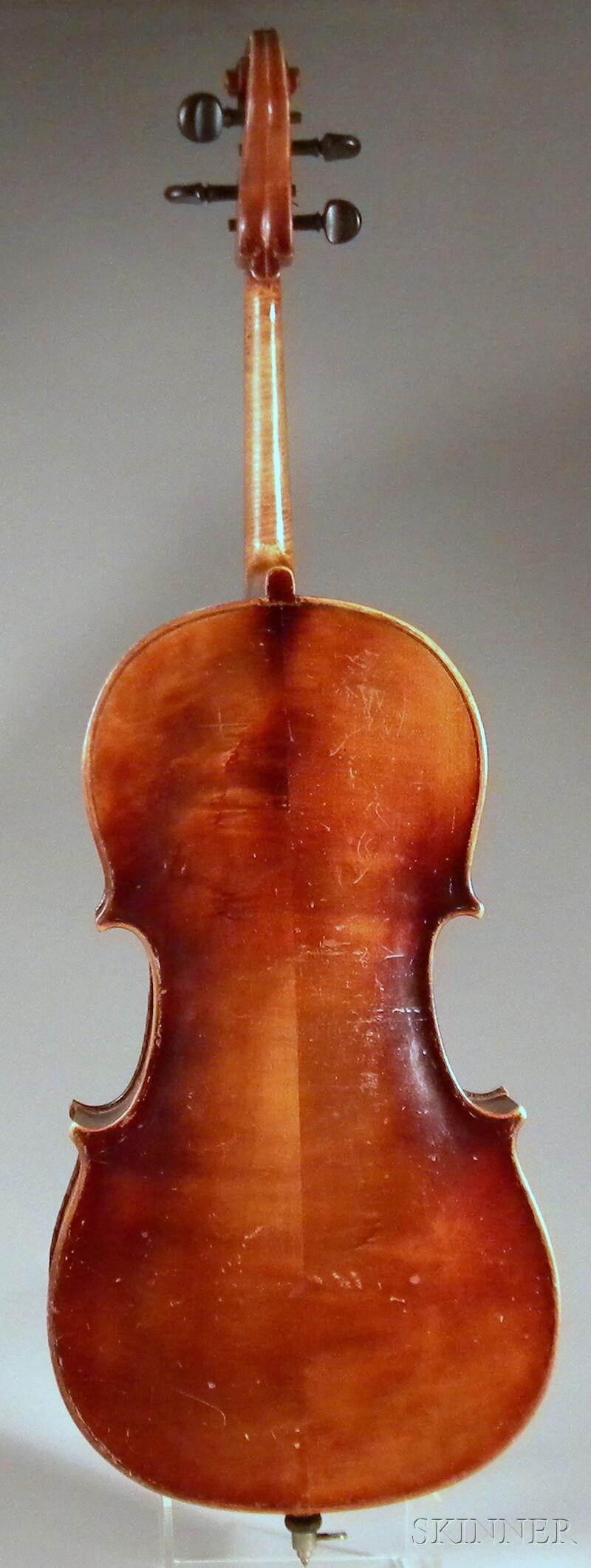 3/4-size German Cello