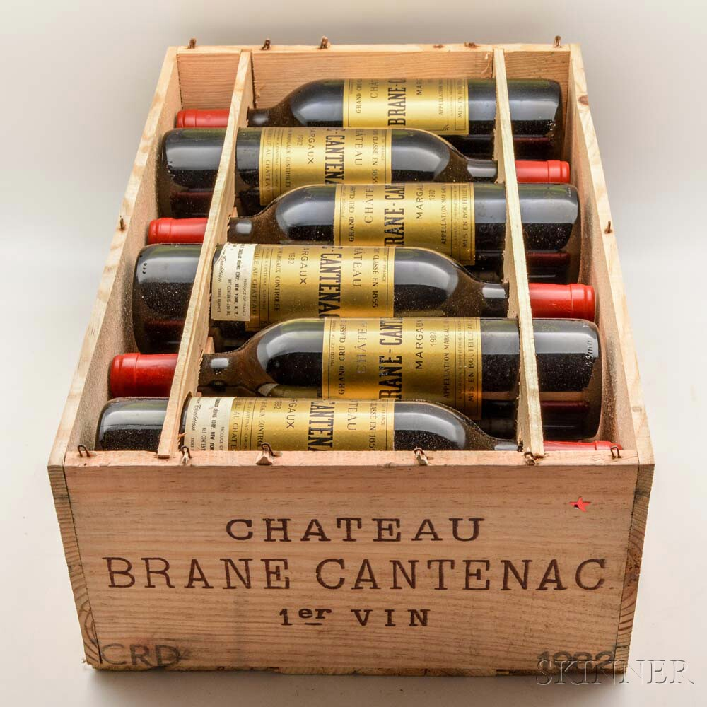 Chateau Brane Cantenac 1982, 12 bottles (owc)