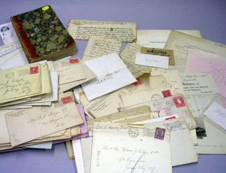 Miscellaneous Correspondence and Ephemera