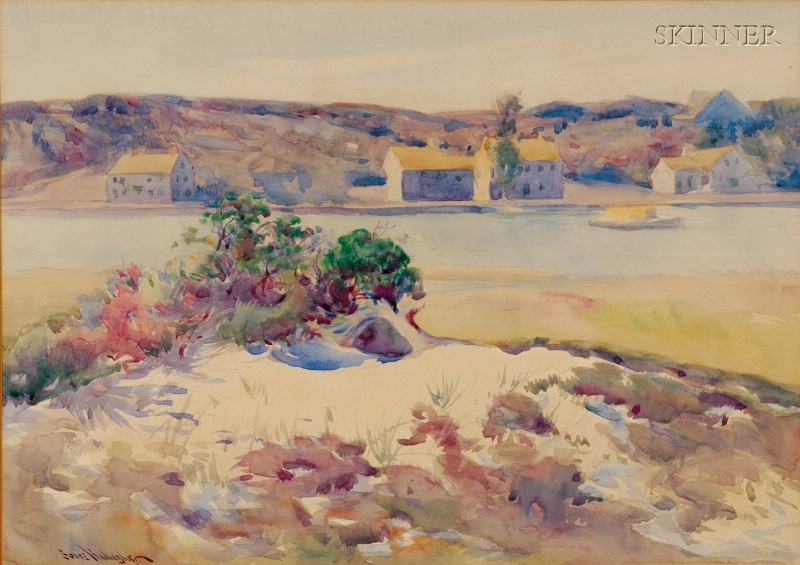 Sears Gallagher (American, 1869-1955)      Across the River
