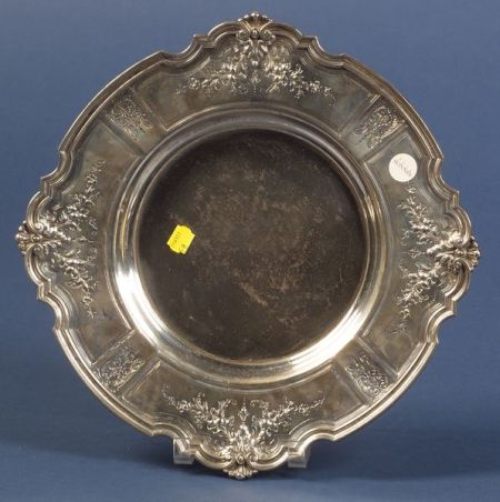 Durgin Sterling Classical Revival Salver