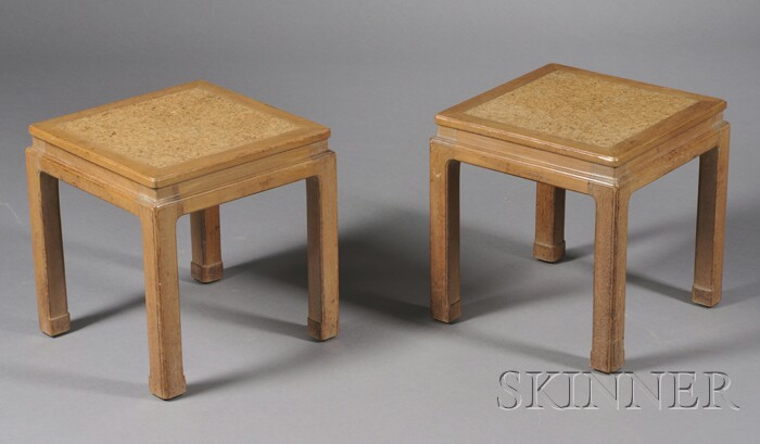 Pair of  Low Tables Attributed to Edward Wormley