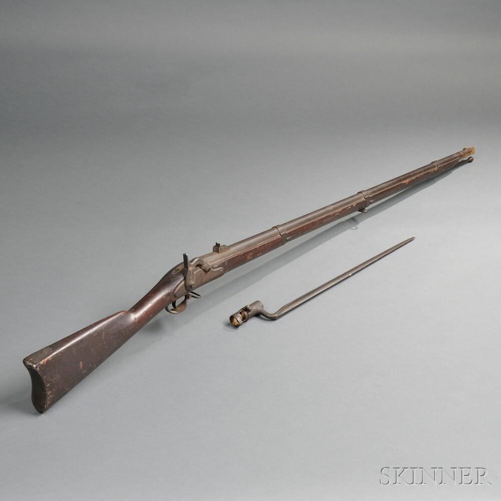 Model 1861 Springfield Musket and Bayonet