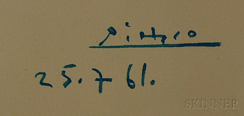 After Pablo Picasso (Spanish, 1881-1973)      La ronde de la jeunesse