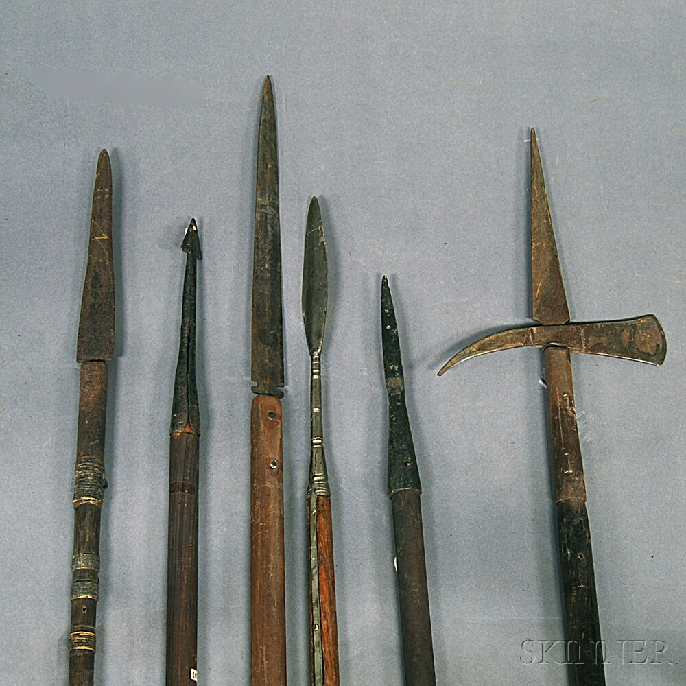 Six Spears and Pikes