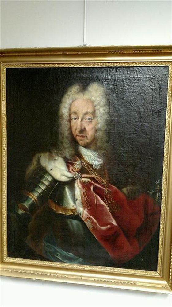 Continental School, 18th Century      Portrait of Victor-Amédée, King of Sardaigne