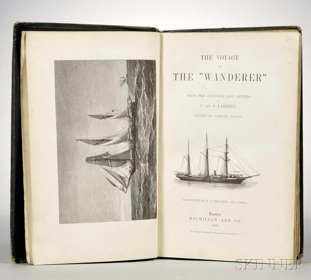 Lambert, Charles J. (1816-1892) and S. Lambert; ed. Gerald Young The Voyage of the Wanderer.