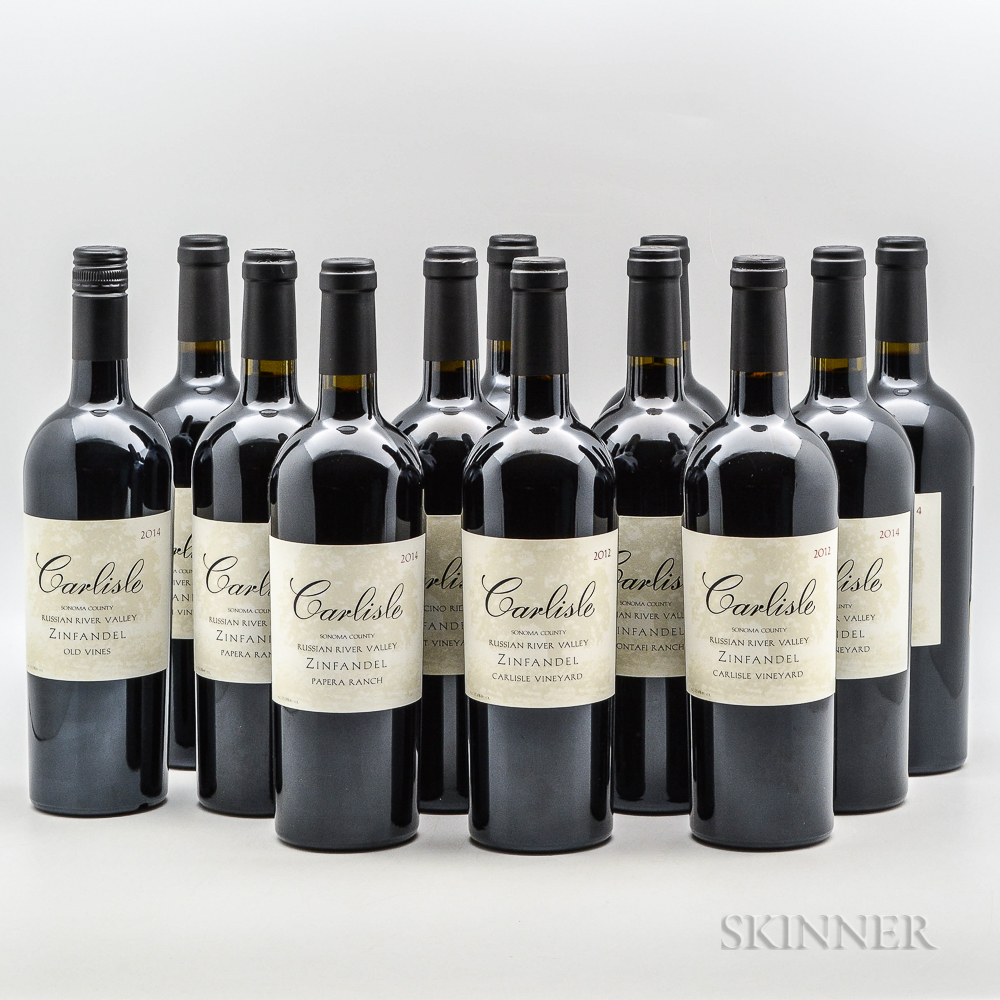 Carlisle Zinfandel, 12 bottles