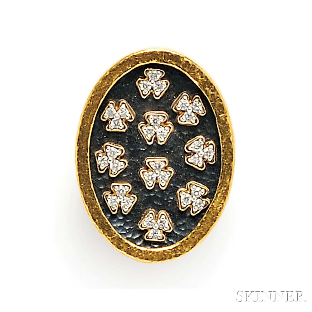 High karat Gold and Diamond Ring, Gurhan