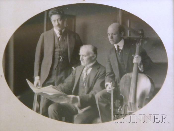 Fritz Kreisler, Pablo Casals