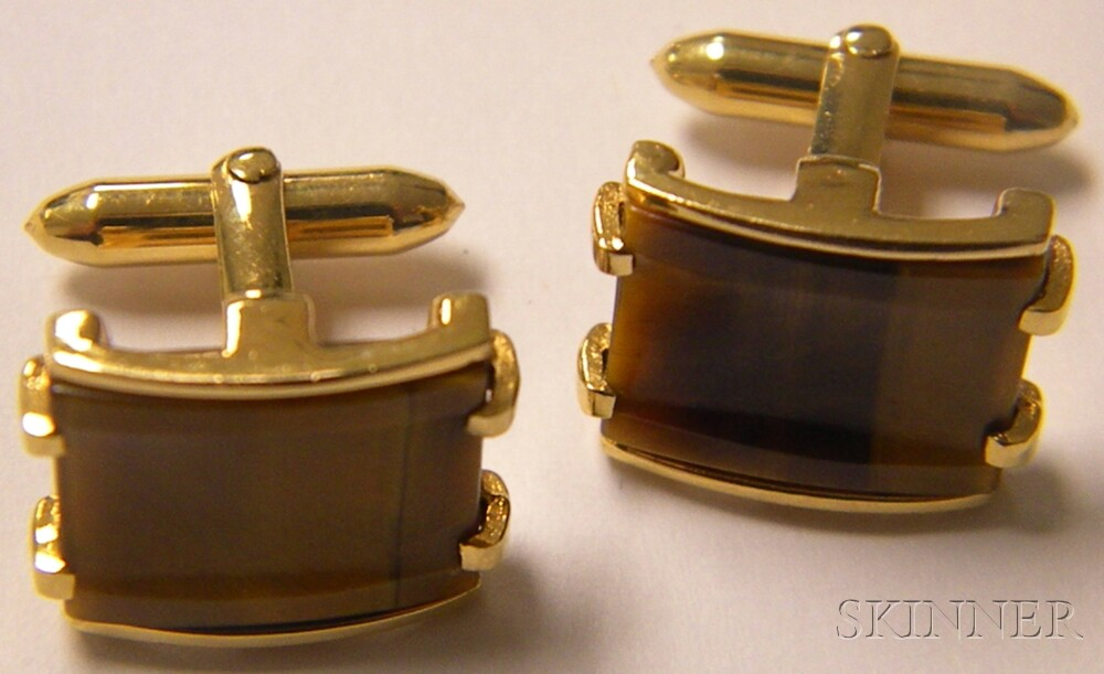 Group of Gold Gentleman's Jewelry