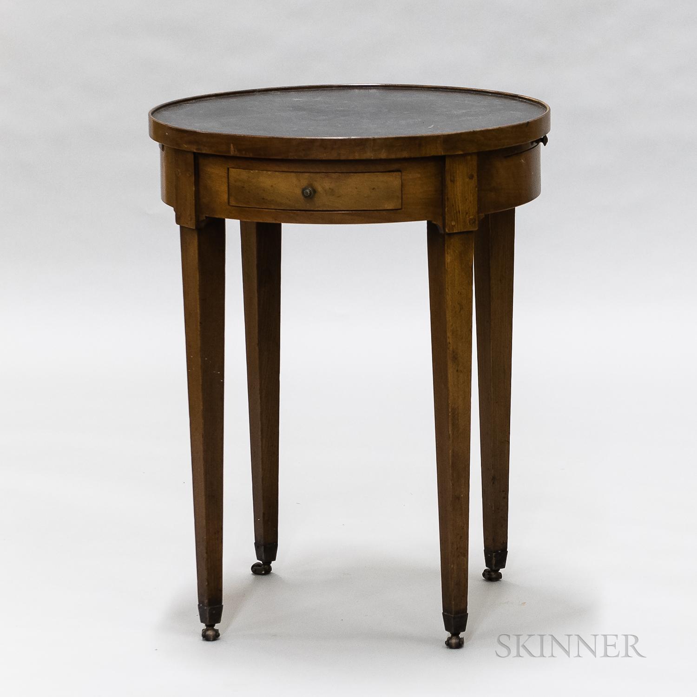 Biedermeier-style Mahogany Table