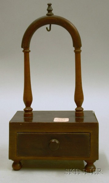 Early 19th Century Mahogany Watch Hutch.