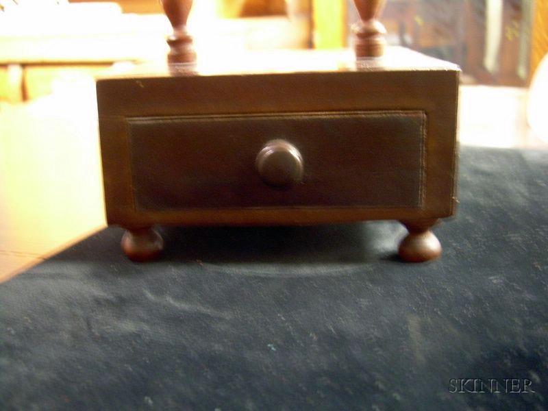 Early 19th Century Mahogany Watch Hutch.