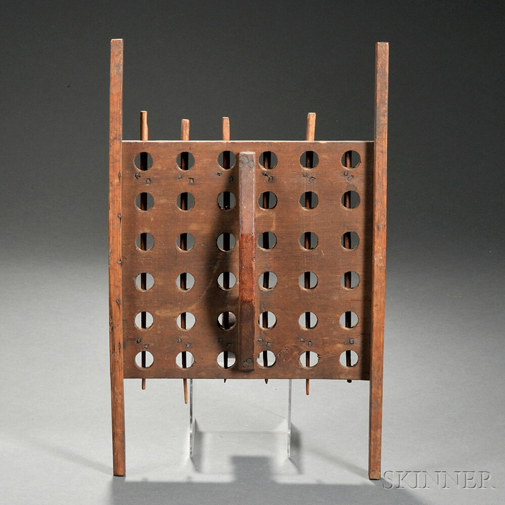 Wooden Candle Drying Rack