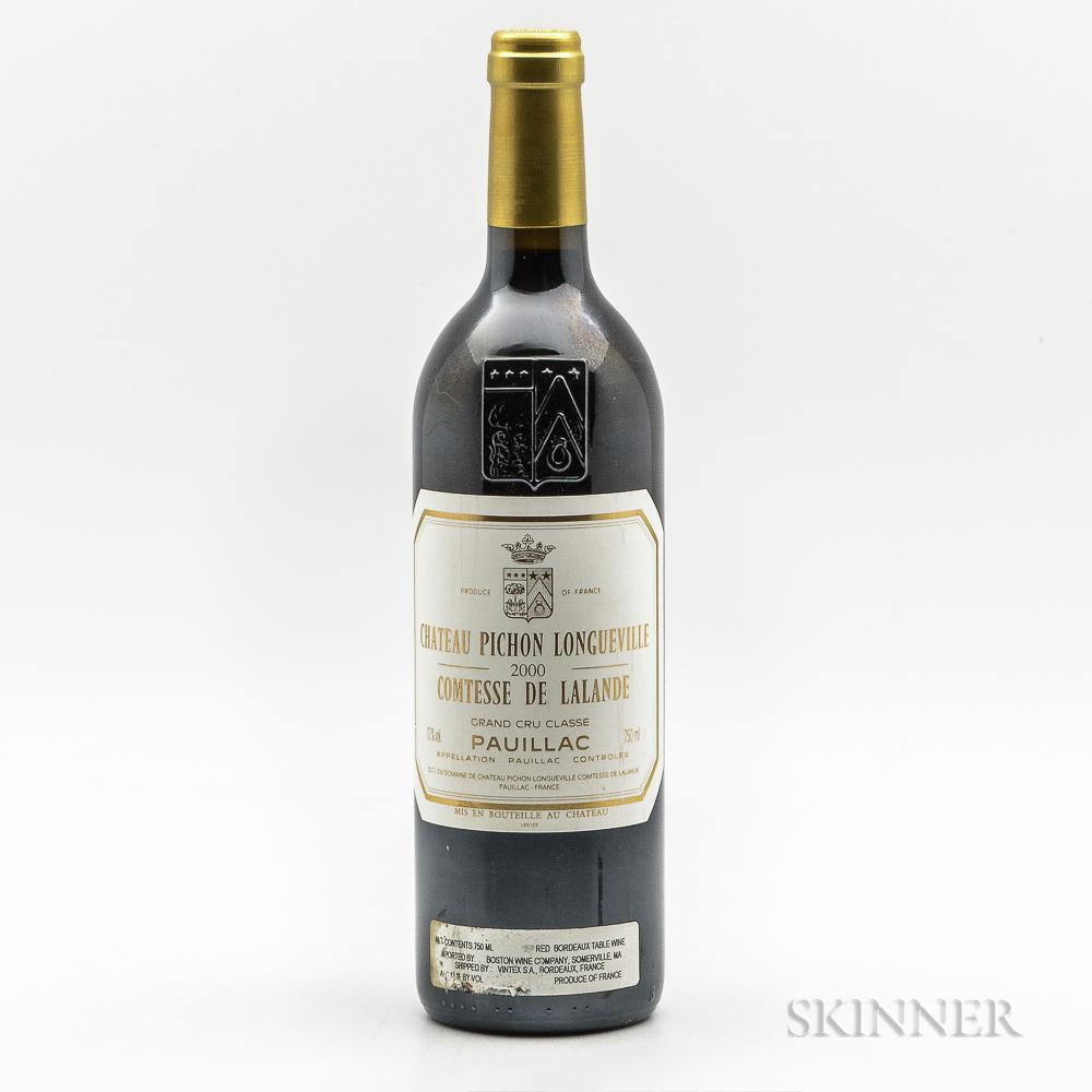 Chateau Pichon Lalande 2000, 1 bottle