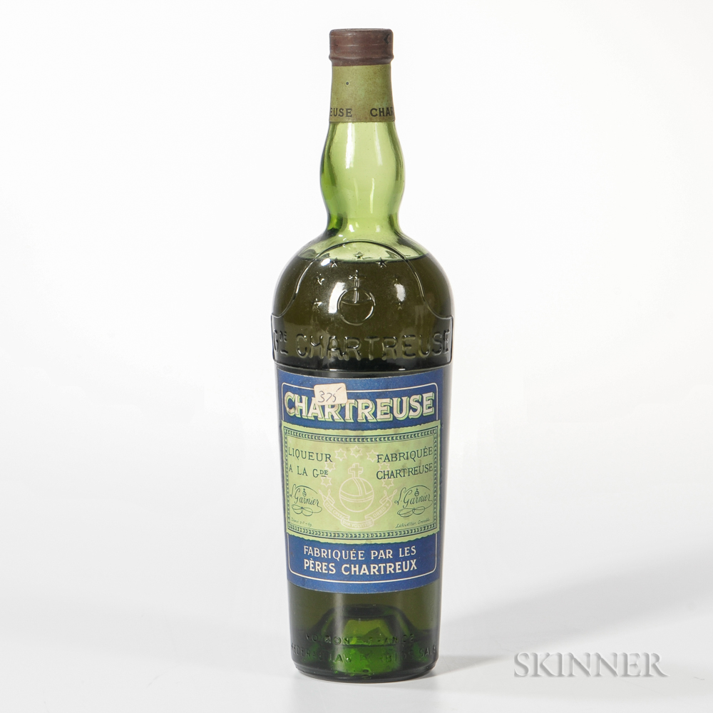 Green Chartreuse, 1 pint 7.6 oz. bottle