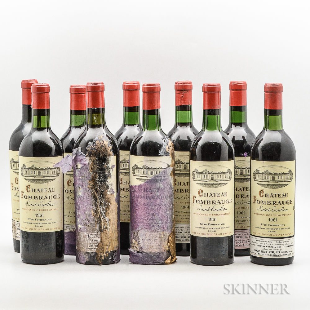 Chateau Fombrauge 1961, 10 bottles