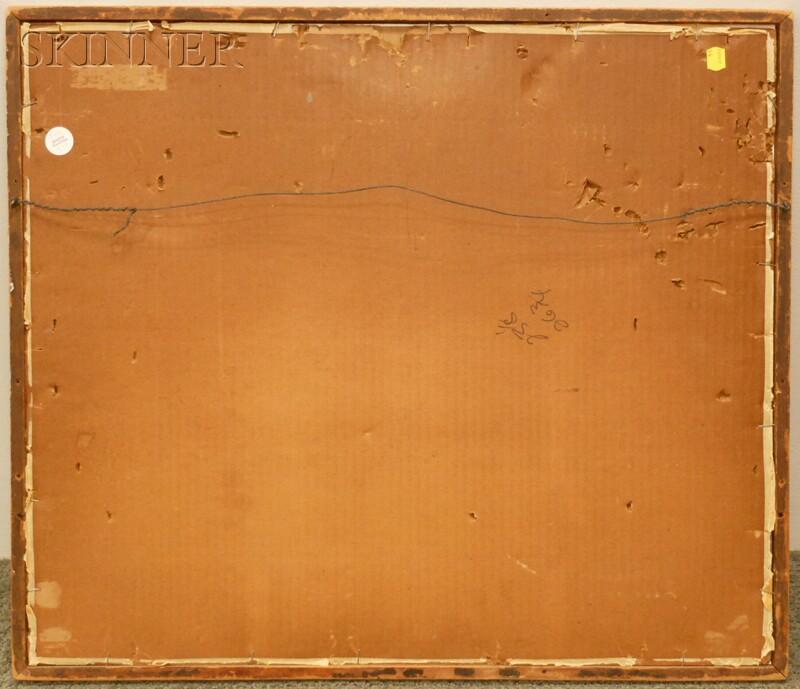 Sandor Bernath (American, 1892-1984)      Two Watercolors: Provincetown Rooftops
