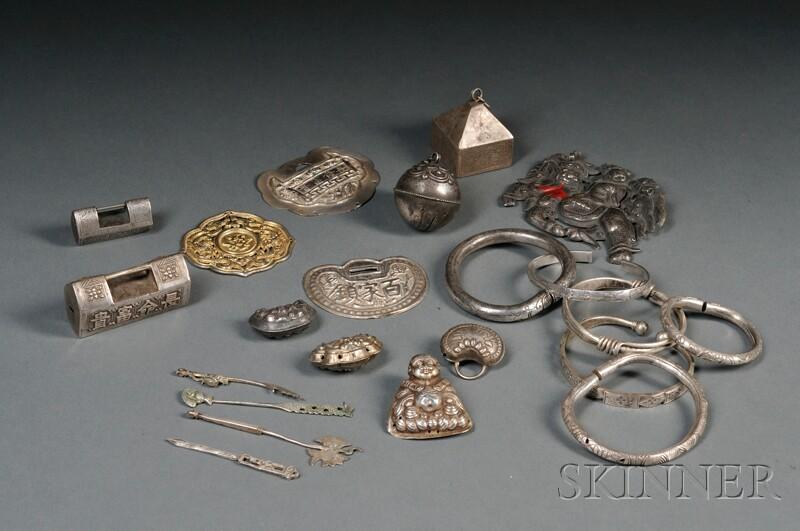 Twenty Silver Items