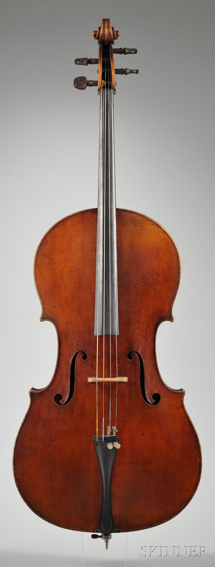 French Violoncello, c. 1840, Caussin School
