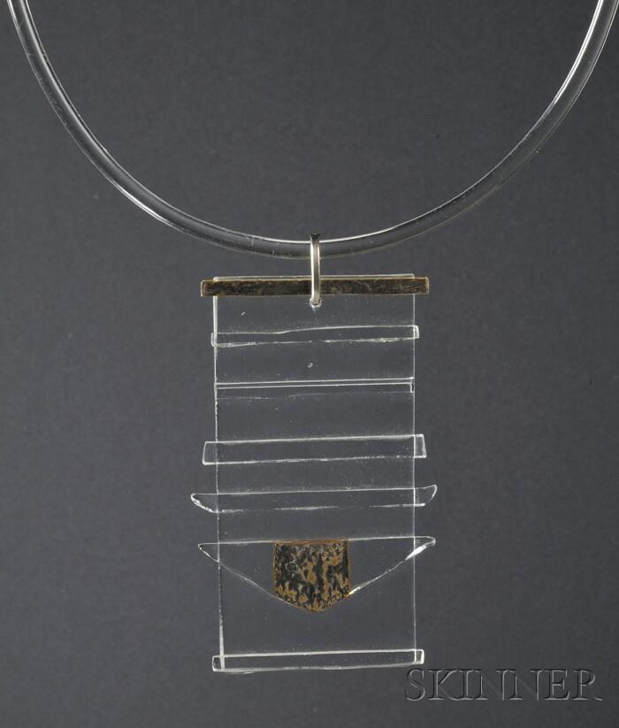 Solar-Lunar Necklace #2, Margret Craver
