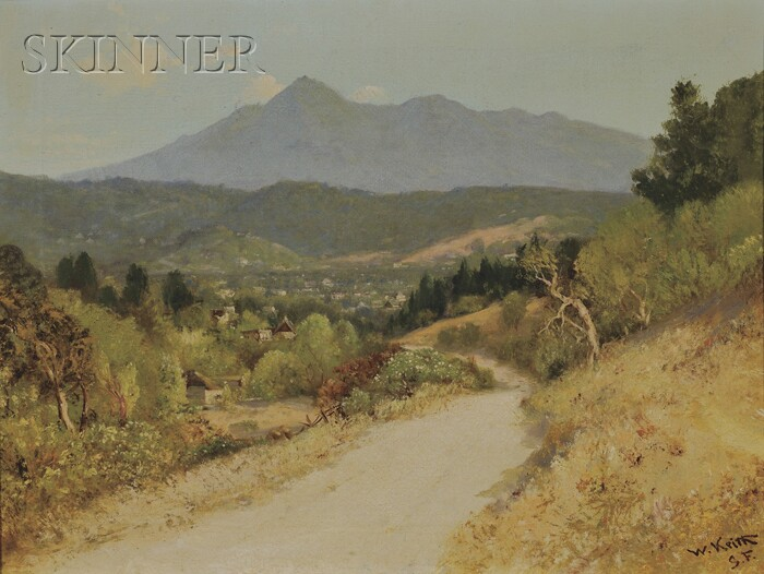 William Keith (American, 1838-1911)      San Anselmo Valley, California