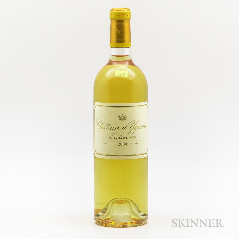 Chateau dYquem 2004, 1 bottle