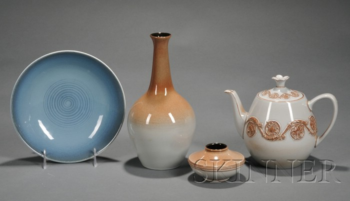 Four Wedgwood Norman Wilson Design Items