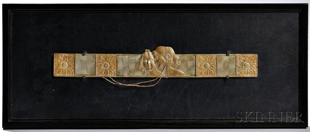Art Nouveau Plaque