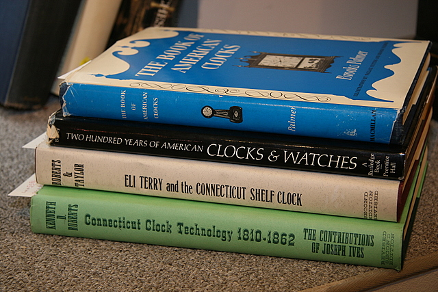 Four Horological Titles on American Clocks and Watches
