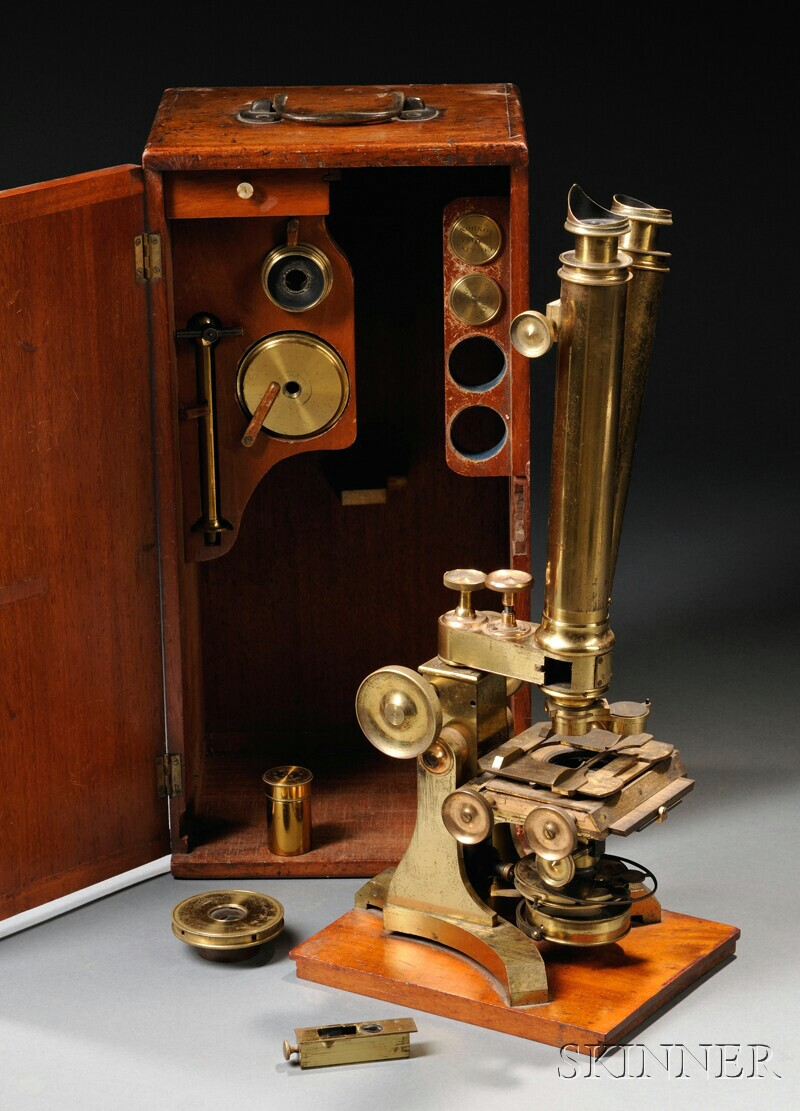 The Harley Binocular Microscope by C. Collins