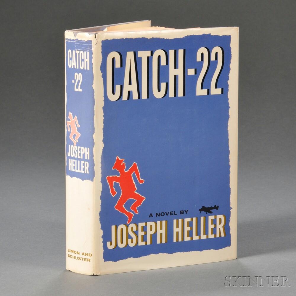 Heller, Joseph (1923-1999) Catch-22  , Inscribed First Edition.